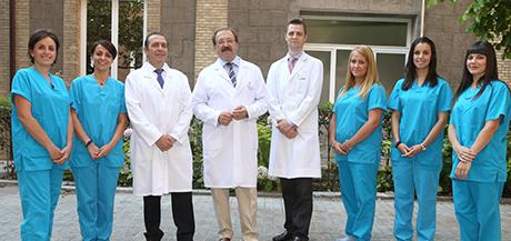 Equipo de La Unidad de Urología Funcional Femenina