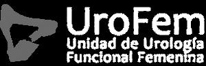 logo UroFem blanco